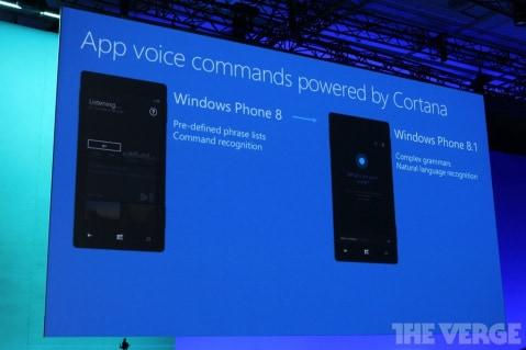 App Voice Commands WP8.1