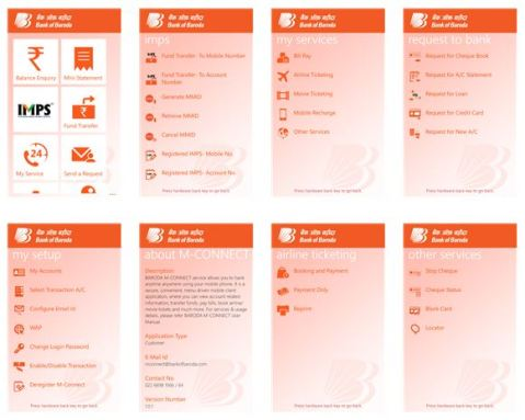 Bank of Baroda app for both Lumia Windows Phone 8 & Windows Phone 7 devices