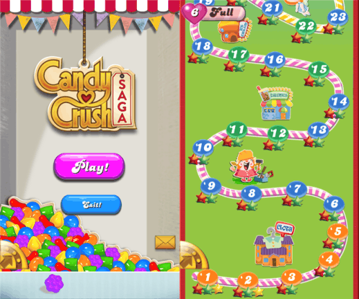 Candy Crush Saga for Windows Phone 8