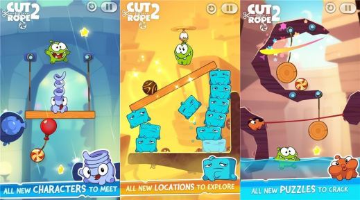 Cut the Rope 2 for Windows Phone image 4