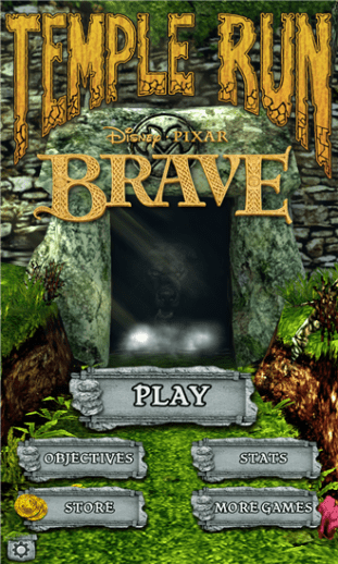 Download Temple Run Brave for Windows Phone 8 Devices