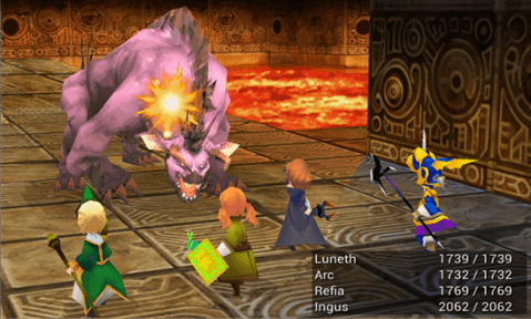 Final Fantasy III on Windows Phone image 1