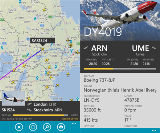 Flightradar24 for Windows Phone image 7