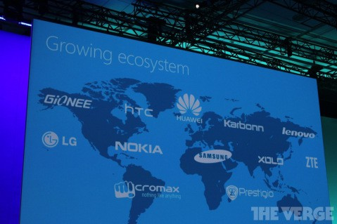 Hardware partners Windows Phone