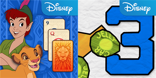 JellyCar 3 and Disney Solitaire for Windows Phone