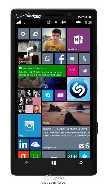 Lumia 929 WP8 GDR3