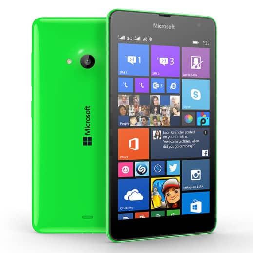 Lumia 535 Dual SIM India image