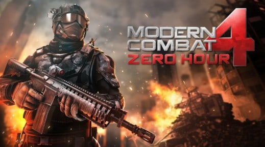 Modern Combat 4 Zero Hour for Windows Phone 8 Devices
