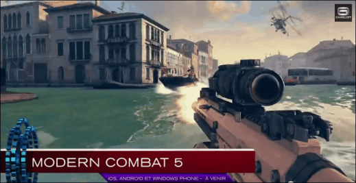 Modern Combat 5 and Captain America for Windows Phone