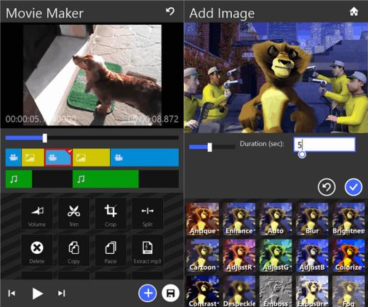 Movie Maker 8.1 for Windows Phone