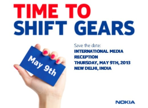 Nokia event in India 9th May 13