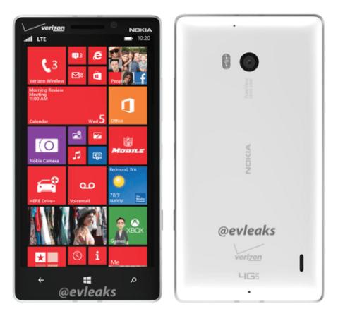Nokia Lumia 929 leak
