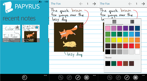 Papyrus for Windows Phone 8