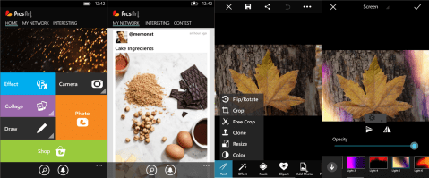 PicsArt on Windows Phone 8