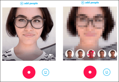 Skype Qik 8 new effects