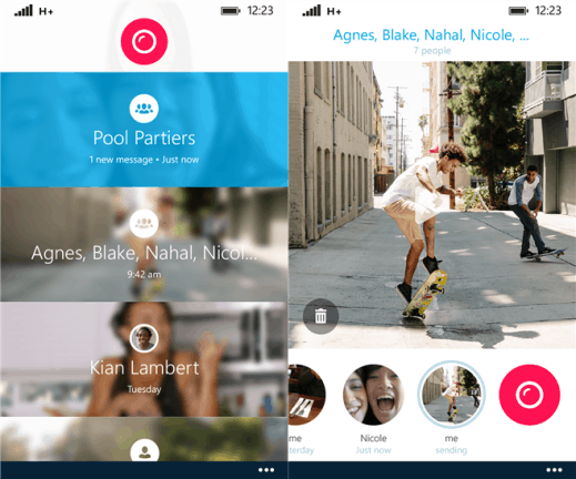 Skype Qik for Windows Phone 8.1
