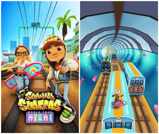 Subway Surfers Miami Windows Phone 8