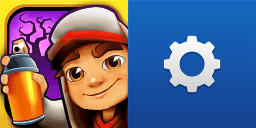 Subway Surfers New Orleans and network+ for Windows Phone