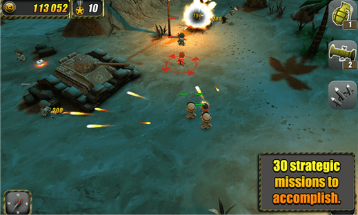 Tiny Troopers for Windows Phone image 1