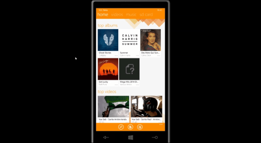 VLC for Windows Phone image 1