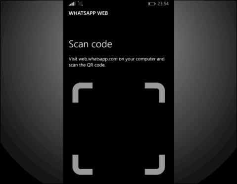 Whatsapp Web for Windows Phone image 3