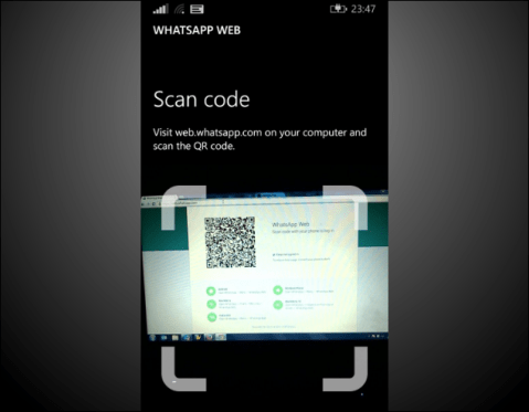 Whatsapp Web for Windows Phone image 5