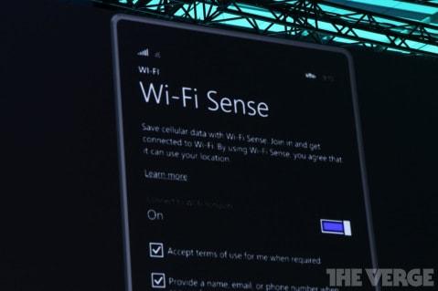 WiFi Sense in WP8.1