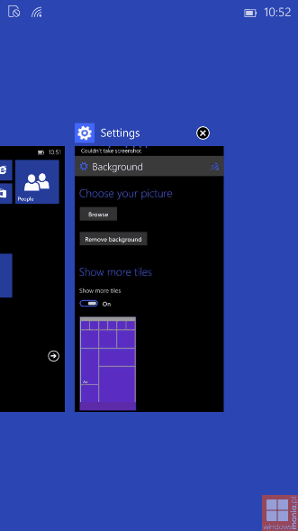 Windows 10 for Phone build 8.15.12521 image 12