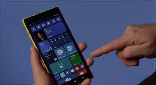 Windows 10 for Phones image 2