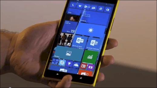 Windows 10 on Phone